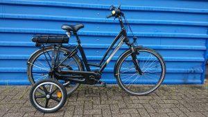 Dutch iD City Shimano Ultralights Black